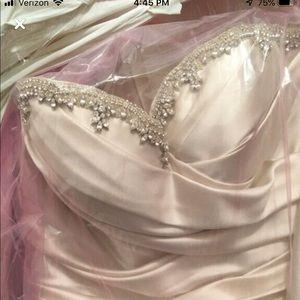 Pnina tornai wedding dress ball gown
